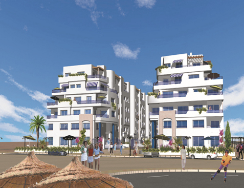 El-Kantaoui residence in Sousse (185 Apartments)
